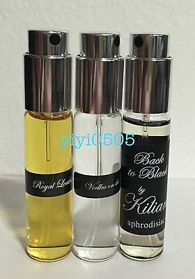 Kilian Refillable Travel Spray Vodka On Rock Royal Leather ... NEW ** Pick Scent