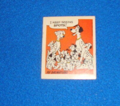Vintage Disney 101 Dalmatians Sticker Unused