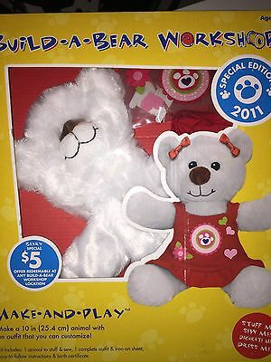 BUILD*A*BEAR WORKSHOP- Make*And*Play - NEW (sealed) 2011 special edition