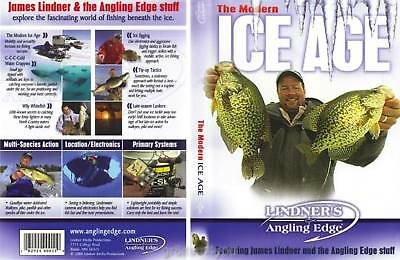 Lindner Ice Fishing The Modern Ice Age - DVD NEW