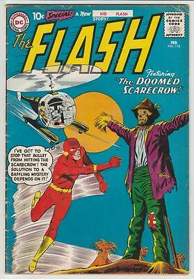 Flash #118 The strict VG/FN  5.0   Appearance - Kid Flash early story  Many more