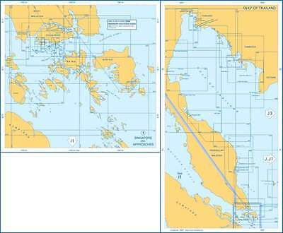 Admiralty Charts - Singapore & Approaches, Gulf of Thailand I2 81