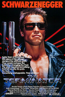 The Terminator (1984) original movie poster single-sided rolled