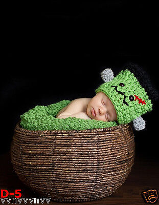 New Creative Round Photography Prop Handmade Woven Basket for Newborn Baby D-5