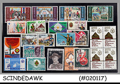 Mini Lot Of Boy Scouts Stamps - Different Countries - 22V - Mint Nh