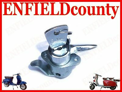 New Lambretta Scooter Tool Box Lock With Keys Handle Type  @cad