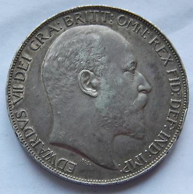 Crown Edward VII 1902 .925 Silver