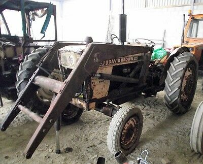David Brown 990 Tractor with Loader