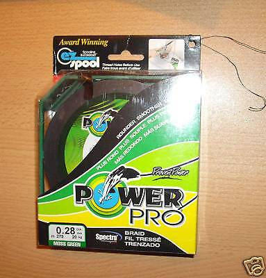 POWERPRO fishing braid - 500yd 53lb GREEN  POWER PRO