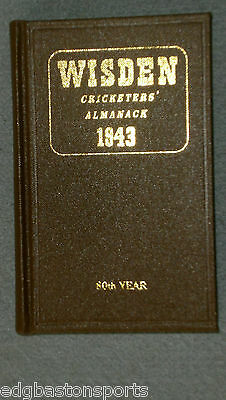Wisden Willows 1943 hardback  Ltd Ed 547 of 750 FREE POST & PACKING UK