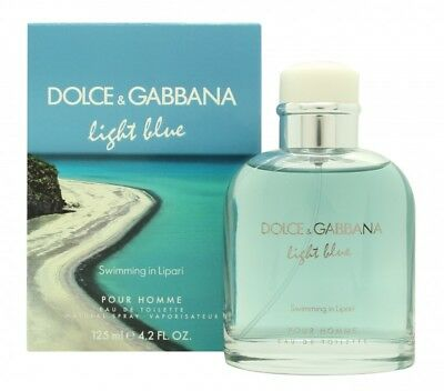 Dolce & Gabbana Light Blue Pour Homme Swimming In Lipari Eau De Toilette 125Ml
