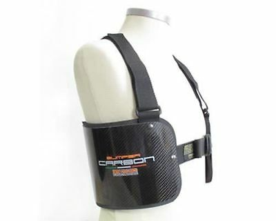 Bengio Pare-choc Protection Strié Carbone Léger XXS - XL UK KART STORE