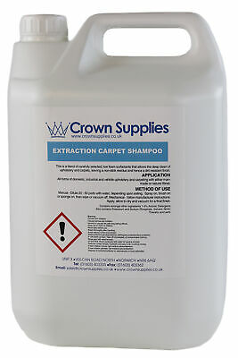 Professional Carpet Extraction Shampoo 5 Litres