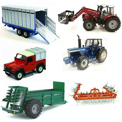 1:32 Fold-up British Cultivator Model - Britains Farm Fold Up Scale Toy Figure