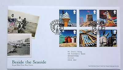 Great Britain Fdc Beside The Seaside 2007
