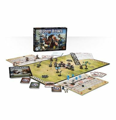 Games Workshop Blood Bowl the Game of Fantasy Football Boxed Game Free UK P&P