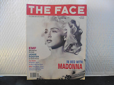 The Face Magazine Feat Madonna: June 1991 No 33