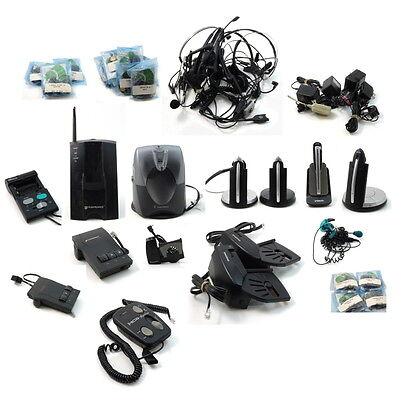 44 pc Wireless Office Headset lot GN9330e GN9350e Plantronics M12 CT10 see list