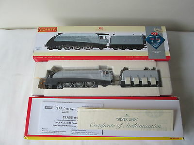 Hornby OO Gauge R2965 LNER A4 2509 Silver Link Ltd Edition DCC Fitted