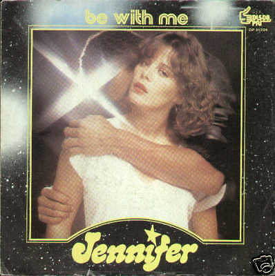 JENNIFER be with me / b.w.m. -1978 - ITA disco più MINT