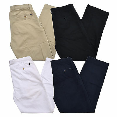 Polo Ralph Lauren Mens Chino Pants Classic Fit Pleated Front Ethan New Nwt