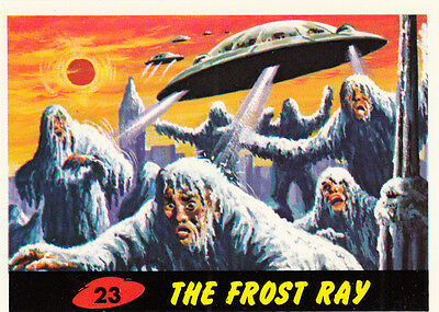1994 Topps Mars Attacks Archives Base Card #23 The Frost Ray