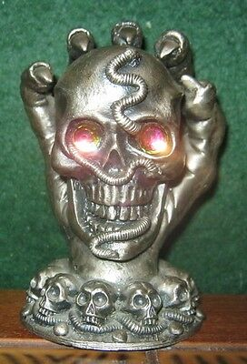 MYTH AND MAGIC KEEPER OF THE SKULLS FIGURE by TUDOR MINT 3099