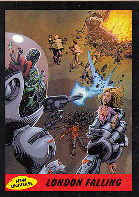 2012 Topps Mars Attacks Heritage New Universe Card #7 London Falling