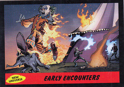 2012 Topps Mars Attacks Heritage New Universe Card #2 Early Encounters