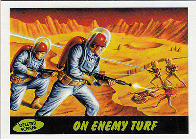 2012 Topps Mars Attacks Heritage Deleted Scenes Card #8 On Enemy Turf