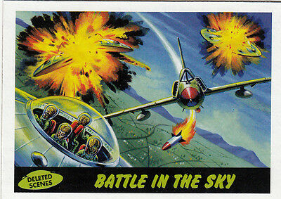2012 Topps Mars Attacks Heritage Deleted Scenes Card #6 Battle In The Sky