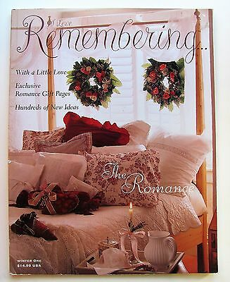 I Love Remembering Magazine Winter One Ideal Book Lovers of Stamps & Scrapbooks