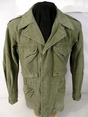 WWII US Army M43 M1943 Cold Weather Combat Field Jacket - Size 38R #1