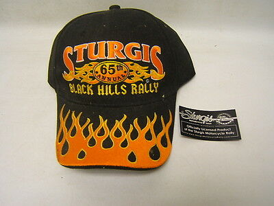 Sturgis Black Hills Rally 65th Annual Rally 2005 Cap Hat NOS with Tag
