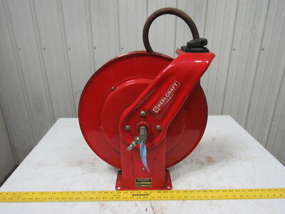 Reelcraft 7850 OLP Heavy Duty Spring Retractable Water Air Hose Reel