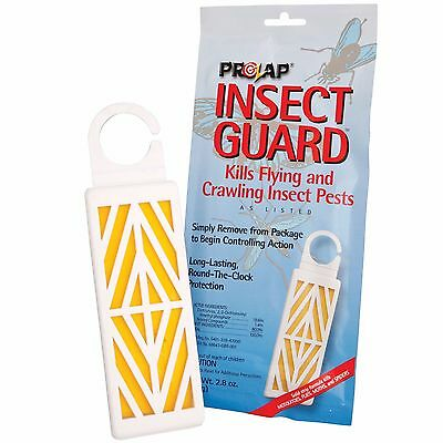 2 ProZap Insect Guard Bug Repellent Kills Flies Mosquitos Gnats Spiders Earwigs
