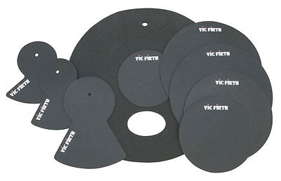 Vic Firth Batterie Kit Silencieux Ensemble 10,12,14,16,22, La-Fusion (NEUF)