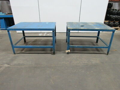 "48""x36""x30"" Industrial Work Assembly Shipping Steel Welding Packing Table"