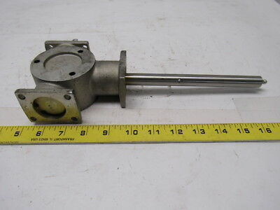 "Hub City AD2/5 Right Angle Bevel Gear Drive 1:1 Ratio 5/8"" Dia. Shafts"