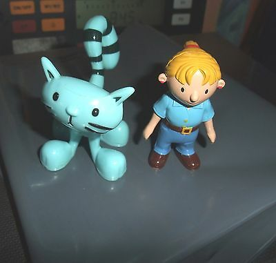 Bob the Builder Figures : Wendy & Pilchard the Cat