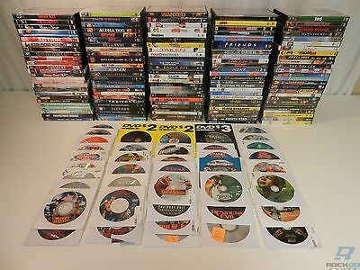 Lot of 168 DVD Movies - X-Men, Transformers, South Park, Lord of the Rings, Saw