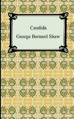 Candida by George Bernard Shaw (English) Paperback Book Free Shipping!