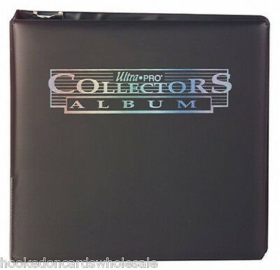 """1 Ultra Pro 3"""" Black Trading Card Collector Album Binder New"""