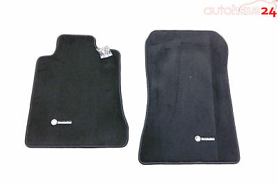 Mercedes Benz Sl Class R129 Black Carpeted Floor Mats 1990-2002 Genuine Oem
