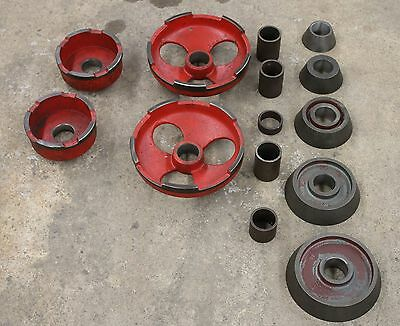 "AccuTurn or Ammco 1-7/8"" Arbor Truck Adapter Set for Brake Lathe Cones Adapters"
