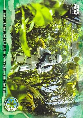 2016 Star Wars Rogue One Series One Green Squad #69 Stormtrooper in the Jungle