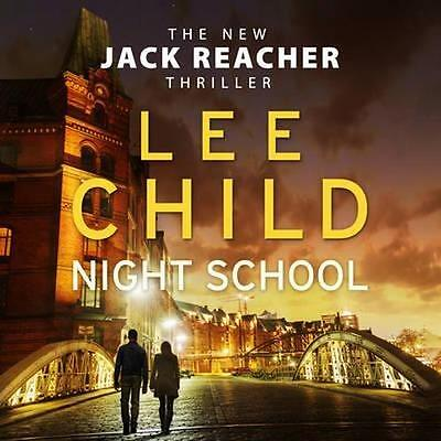 NEW Night School By Lee Child Audio CD Free Shipping