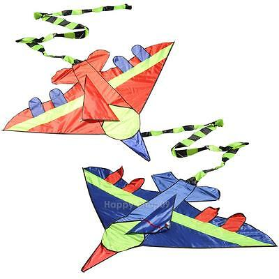Outdoor Fun Kids Flying Kite Novelty Airplane Shape Kites Children Toy