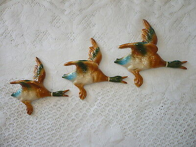 Flying Wall Hanging Ducks , Retro  , Dont Come Any Better.