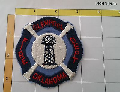Glenpool Oklahoma Fire Firefighter Fireman Dept Division Patch Insignia